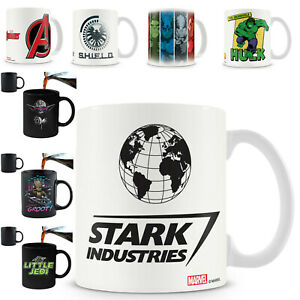 Superhero Coffee Mug - Official Licensed Products Avengers DC Batman Ironman