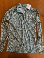 Alpha Gamma Delta (Agd) 1/4 zip women's pullover by Badger Sports. Size Small