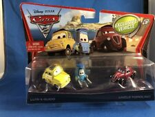 Disney Pixar Cars 2 Luigi & Guido & Uncle Topolino Excluive Vehicle