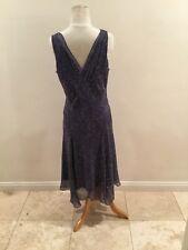 womens Diane von Furstenberg silk dress size 10