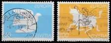 Zwitserland 1995 gestempeld 1552-1553 - Europa / Vrede en Vrijheid