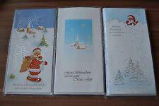 15 Stück verschiedene Weihnachtskarten Grußkarten Klappkarten (C1)