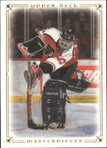 2008-09 UD Masterpieces Flyers Hockey Card #8 Ron Hextall