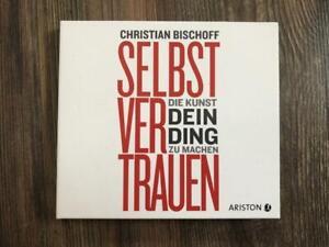 CHRISTIAN BISCHOFF - SELBSTVERTRAUEN Hörbuch 2 CDs - wie NEU !!