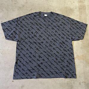 Vintage Rogue Status Gun Show Rob Dyrdek T-Shirt Mens XXXL 3XL E1-11 Rare