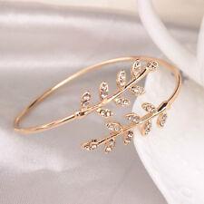 Fashion For Women Bracelet Silver Leaf Bangles Opening Bangles Adjustable
