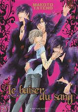 LE BAISER DU SANG Makoto Tatend YA OI ONE SHOT yaoi manga français