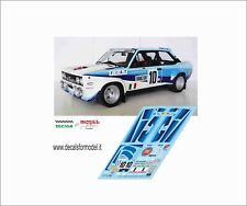 DECALS FIAT 131 ABARTH RHORL RALLY MONTECARLO - PORTOGALLO 1980