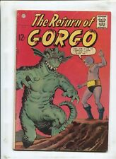 THE RETURN OF GORGO #2 - MONSTER FROM THE SEA! - (4.5) 1962