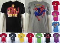 T-Shirt Maglietta Uomo Marvel  Comics  Supereroi Originale H&W C109 Tg L