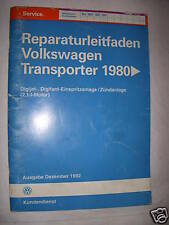 T3 Reparaturanleitung 2,1 Motor DJ+MV  Einspritzung+Zündung+Schaltpläne Elektrik