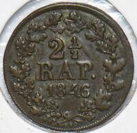 Swiss Cantons 1846 BEL 2 1/2 Rappen 490312 combine shipping
