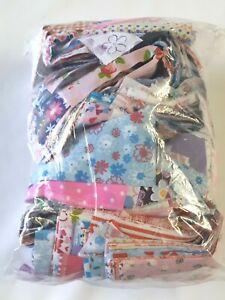 Fabric Remnants Short Strips Polycotton Bundle Craft Joblot 1 KG BIG BAG