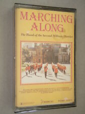 Marching Along - The Band Of The Second Military District Tape Cassette