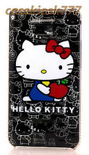 for samsung galaxy s2 i9100 and i777 cute kitn hello kitty case black whiteS II