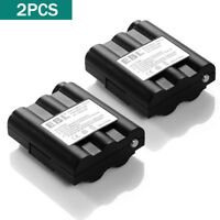 2Pack 700mAh Two-Way Radio Rechargeable Battery for Midland BATT-5R BATT5R AVP-7