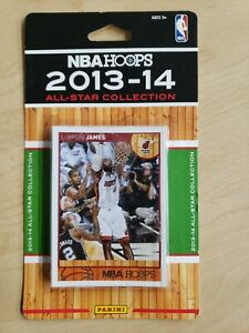 2013-2014 Panini NBA Hoops All Star 9 Card Team Collection set