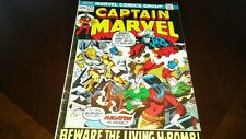 Captain Marvel #23 (Nov 1972, Marvel) FINE+
