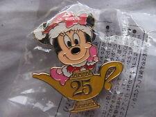Disney Trading Pins 67043 TDR-Minnie in Santa Hat- 25 Lamp