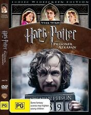 HARRY POTTER And The Prisoner Of Azkaban DVD Year 3 TOP 500 MOVIES BRAND NEW R4