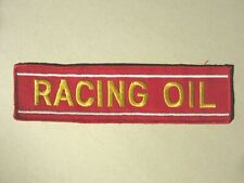 patch RACING OIL patch