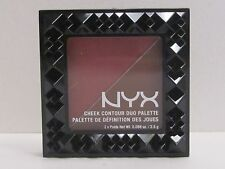 NYX Cheek Contour Duo Palette color CHCD04 Wine & Dine Full Size Brand New