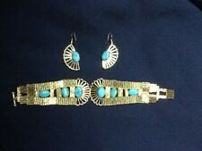 Bracelet and earings
