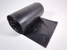 1000 Müllbeutel 30 L Liter MDPE schwarz Abfallbeutel Müllsäcke Mülltüten 13 μ