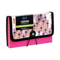 DocIt Coupon File, Fashion, Market Tiles, Pink or Green