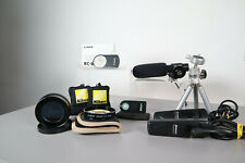 Camera Accessories Bundle (Includes Remotes, Microphone, Macro lens, Tripod)