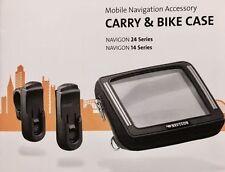 Navigon CARRY & BIKE CASE  Wasserabweisende Tasche für 14 Series / 24 Series Neu