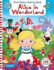 Alice in Wonderland: First Sticker Activity Book, , New Book