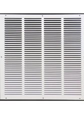 """32"""" X 25 Steel Return Air Filter Grille for 1"""" Filter - Fixed Hinged - Ceiling"""
