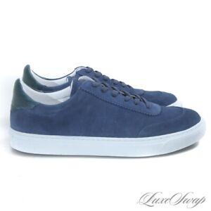 #1 MENSWEAR NIB G. Brown Made in Portugal Sprint 432 Navy Suede Sneakers 9.5 NR