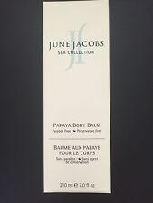 June Jacobs Spa Collection Papaya Body Balm 7 oz NEW