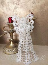 Angel crochet pattern. Ideal as Christmas tree topper.