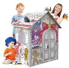 Jokley Playhouse - My Little Gingerbread House Build & Colour Cardboard Toy