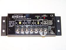Morningstar  SS-6L-12V SunSaver 6A, 12V Solar Controller/Regulator with LVD