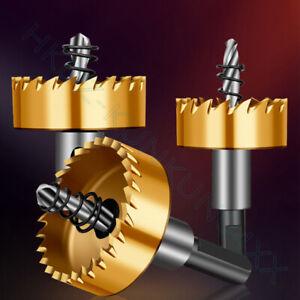 13mm-70mm Titanium Plating Hole Saw Drill Bit Stainless Steel Metal Cutting Tool