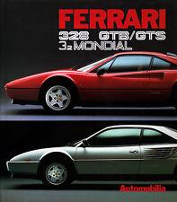 Ferrari 328 GTB/GTS & 3.2 Mondial - Book by Paolo Murani and Stefano Pasini Publ