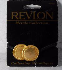 REVLON HAIR PONYTAIL ELASTIC GOLD & BLACK METALS COLLECTION HAIR ACCESSORY NOC