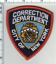 New York City Department of Corrections Baseball Cap Patch