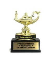 Honor Roll Trophy- Student- Achievement- Honors- Desktop Series- Free Lettering