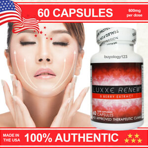 60 Luxxe Renew 8 Berry Extract Anti Aging Wrinkle Anti Oxidant Pills Capsules
