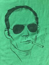 Hunter S. Thompson Shirt Hell's Angels Rum Diary Fear And Loathing In Las Vegas