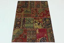 look antique patchwork moderne délavé PERSAN TAPIS tapis d'Orient 2,41 x 1,71