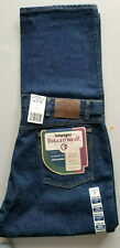 WRANGLER RUGGED WEAR Men Classic Fit Cotton Denim Work Jean - 38x30 Dark Blue