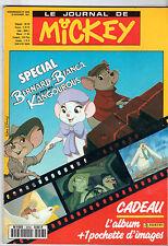 LE JOURNAL DE MICKEY n°2058 ¤ 1991 ¤ SPECIAL BERNARD ET BIANCA