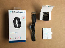 Fitbit Charge 2 Heart Rate Activity Tracker  S Size - Black - Fully Working