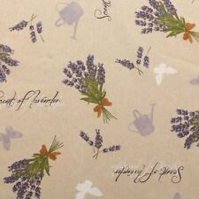 Flowers & Plants Fabric with Colourfast